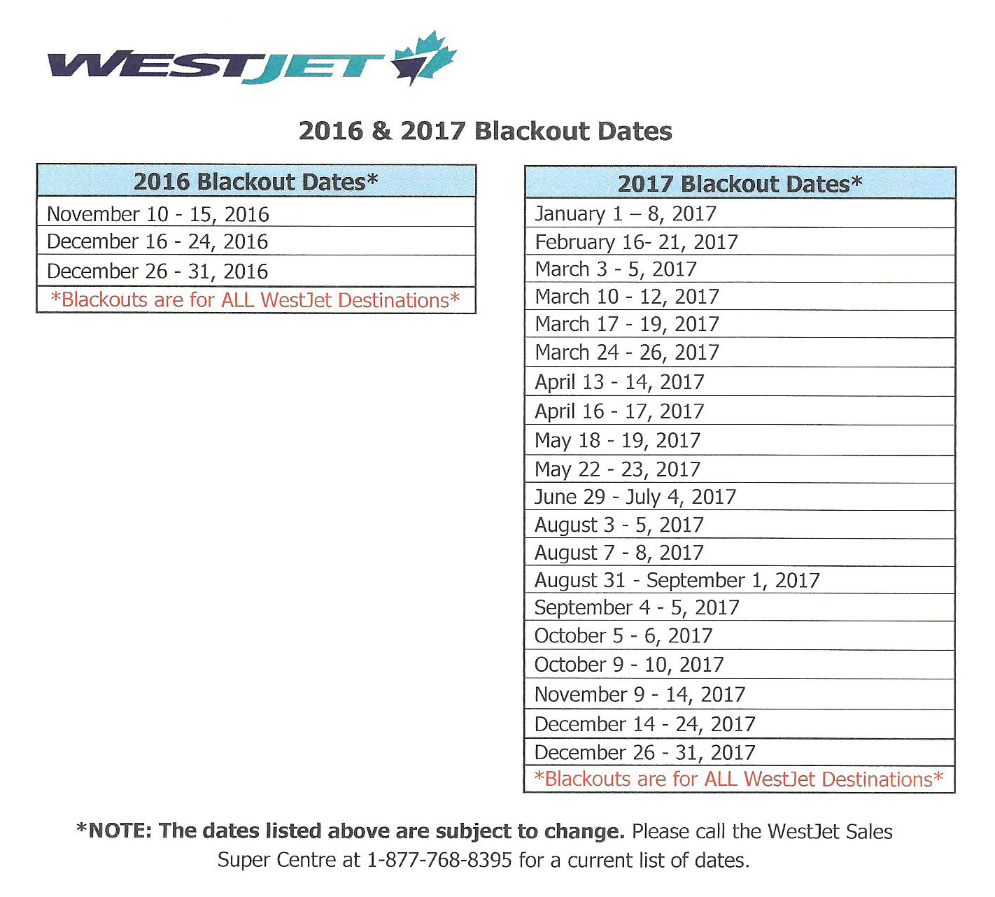 westjet_blackout_dates