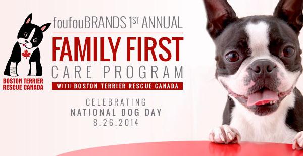 """foufou BRANDS """"Family First"""" Care Program"""
