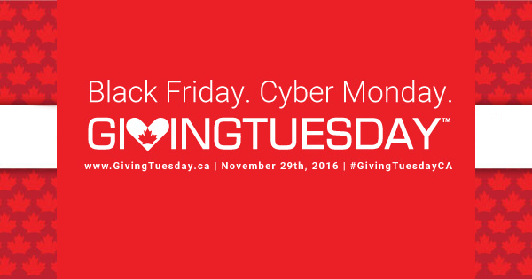 Giving Tuesday 2016!